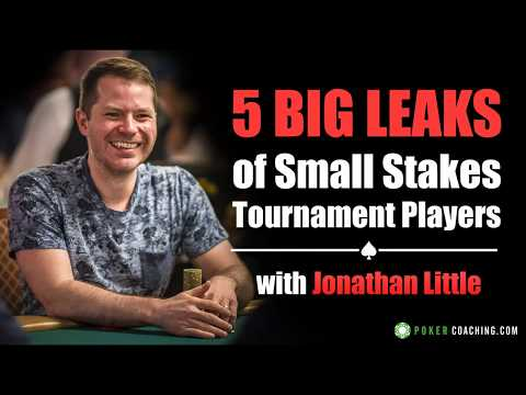 5 BIG Mistakes of Small Stakes Tournament Poker Players