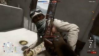 Battlefield 1 Melee Attack Montage - Compilation Gameplay #04