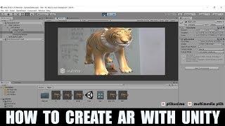 البرنامج التعليمي | كيفية إنشاء AR مع الوحدة