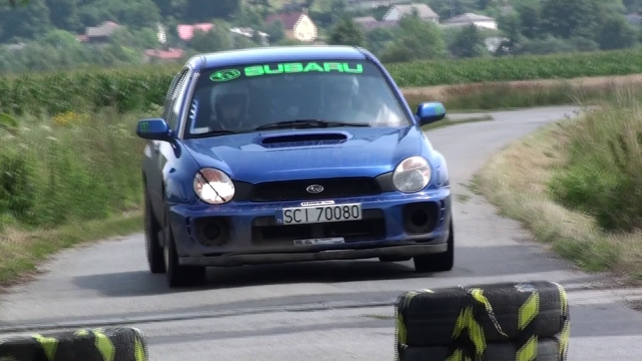 2 Runda RPPRajdowka.pl 2017 – Sławomir Sikora / Jakub Sikora – Subaru Impreza