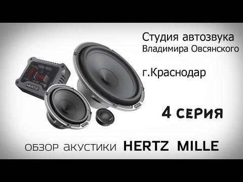 Серия 4. Обзор модельного ряда акустики HERTZ Mille