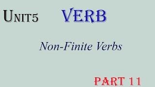 Unit 5 Verbs  part 11--មេរៀនទី5  កិរិយាស័ព្ទ   ភាគទី 11