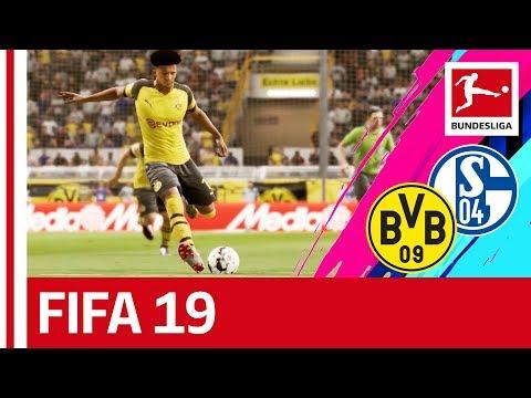 Borussia Dortmund vs. FC Schalke 04 - FIFA 19 Prediction With EA Sports