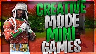 CREATIVE MODE MINI GAMES I HUNGER GAMES, HIDE & SEEK, RACE TRACKS, PARKOUR I FORTNITE PS4 EU
