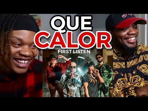 Download Lagu  FIRST LISTEN 👀 | Major Lazer - Que Calor feat. J Balvin & El Alfa    Mp3 Free