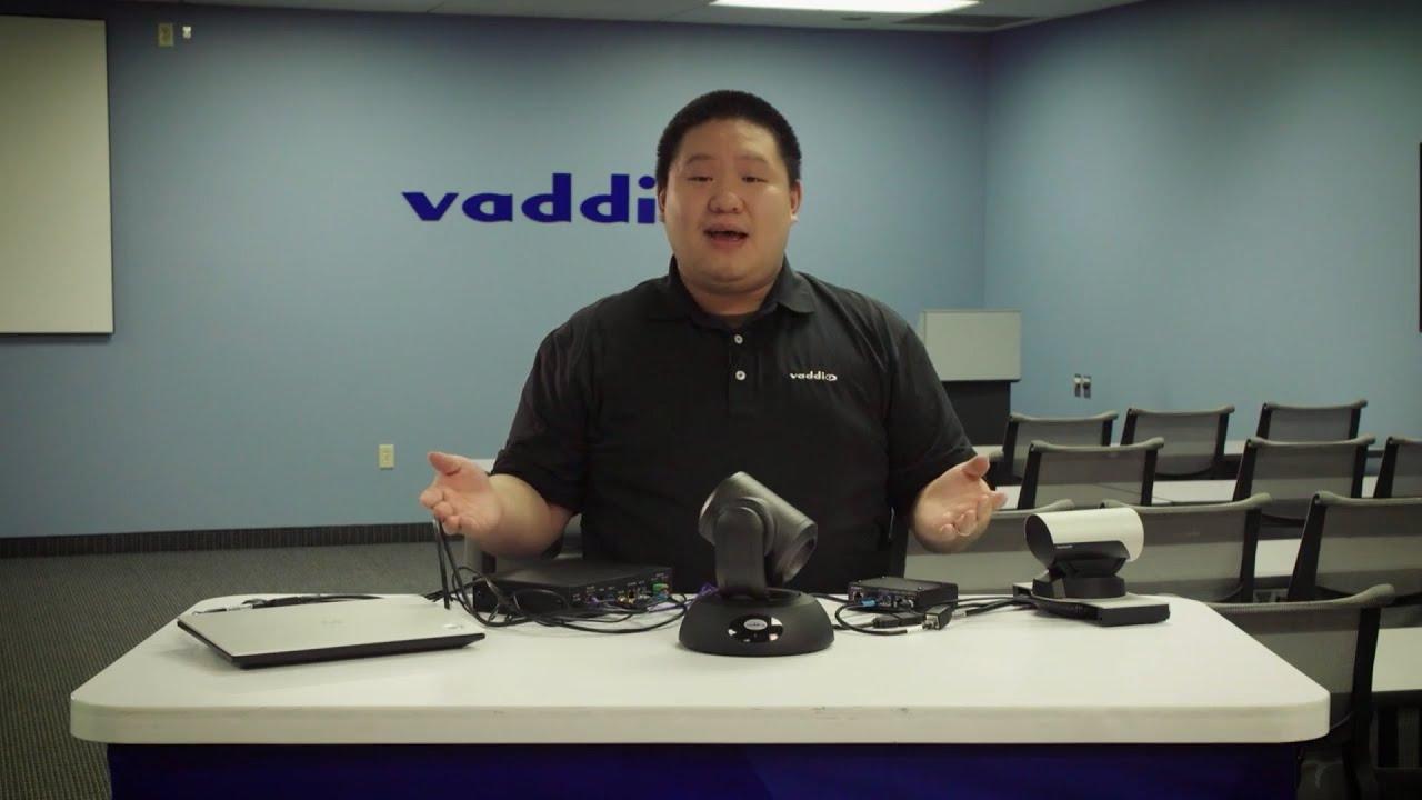 How to Connect Vaddio OneLINK Bridge to Cisco SX20