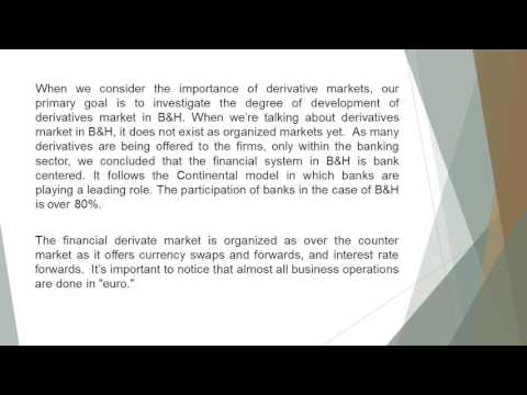 Usage of Derivatives in Emerging Markets The Case of Bosnia And Herzegovina  AEFR 73 248 257new