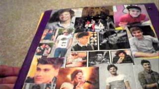 DIY One Direction Binder