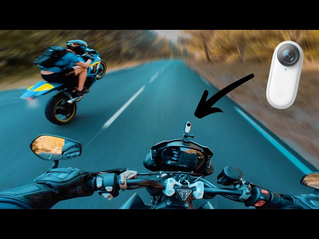 Une caméra incroyable pour la moto ! Insta360 GO 2 🔥