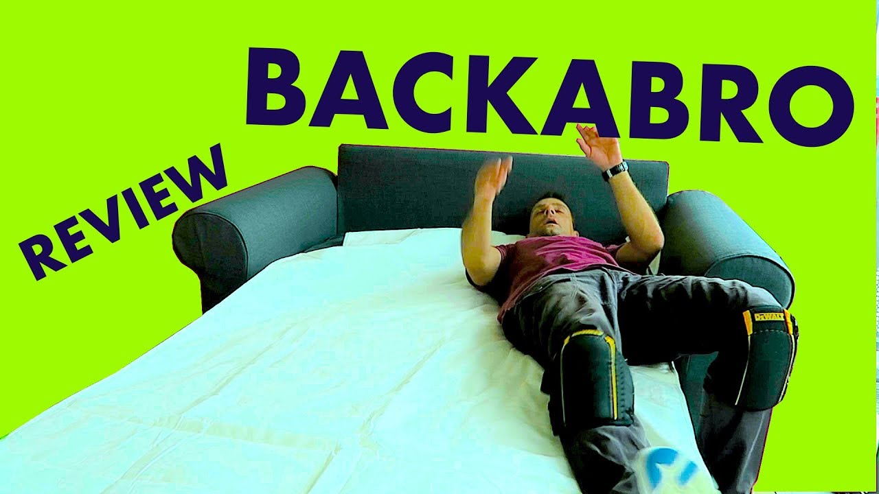 Backabro Ecksofa Ikea Backabro Two Seat Sofa Bed Review Youtube