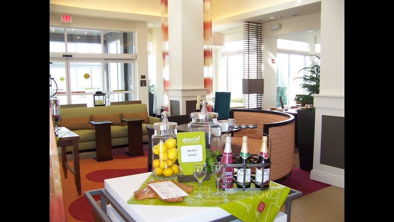 part 1 of full hotel tour of hilton garden inn charlotte nc