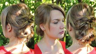 Повседневная причёска своими руками на стрижку