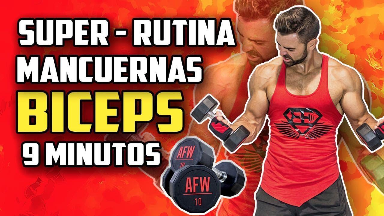 Mancuernas rutina biceps con