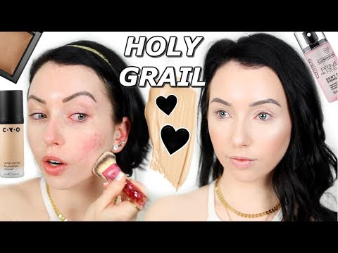 My Go-To Flawless Foundation Routine! DRUGSTORE & Smoothing! In-Depth Tutorial for Pale Dry Skin
