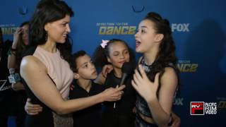 Jake Monreal, Tahani Anderson and Ruby Castro reaction to first Top 10 elimination on SYTYCD