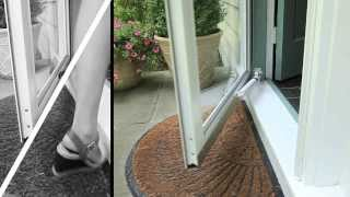 Touch 'n Hold Smooth- A More Convenient Door Closer
