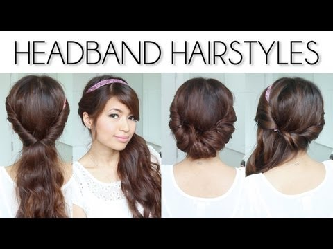 ♥-easy-everyday-headband-hairstyles-for-short-and-long-hair-tutorial