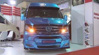Mercedes-Benz Sprinter 516 CDI Cancan Oto Bus (2016) Exterior and Interior