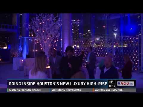 Going Inside Houston's New Luxury High-rise
