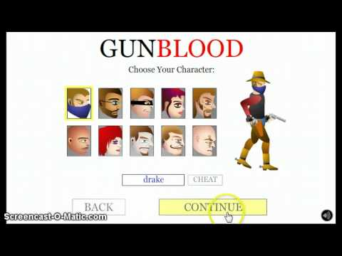 AWESOME CHEAT FOR GUNBLOOD