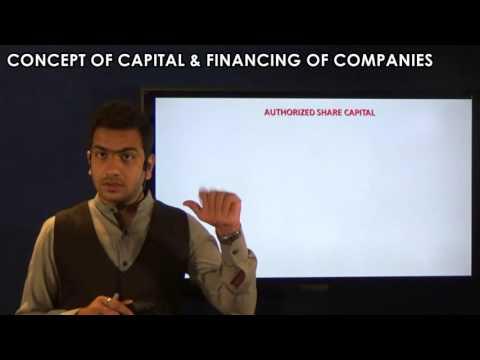 CS Executive - Concept of Capital