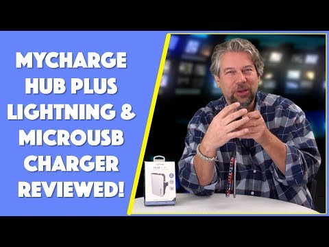 MyCharge Hub Plus - Lightning + MicroUSB Charger -- REVIEWED
