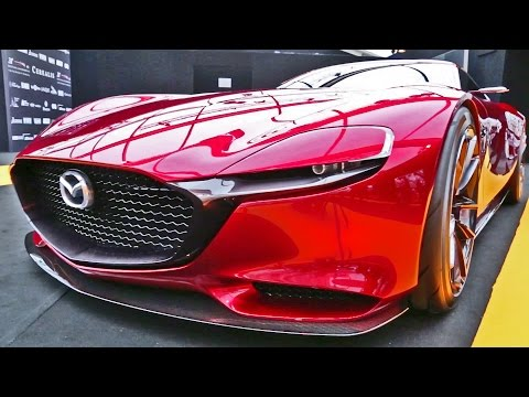 Mazda RX-VISION Concept - Exterior and Interior Walkaround