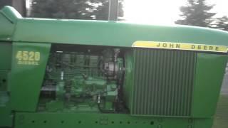 1969 John Deere 4520 startup with 466 engine
