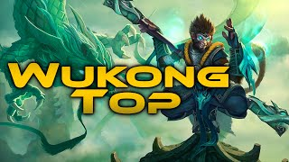 League of Legends - Jade Dragon Wukong Top - Full Game Commentary