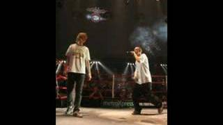 Mc fight night - 2006 - finalen - Kejser A vs Fantomet