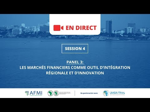 Atelier AFMI/BAD 2017 / Session 4 : Panel sur les marchés financiers