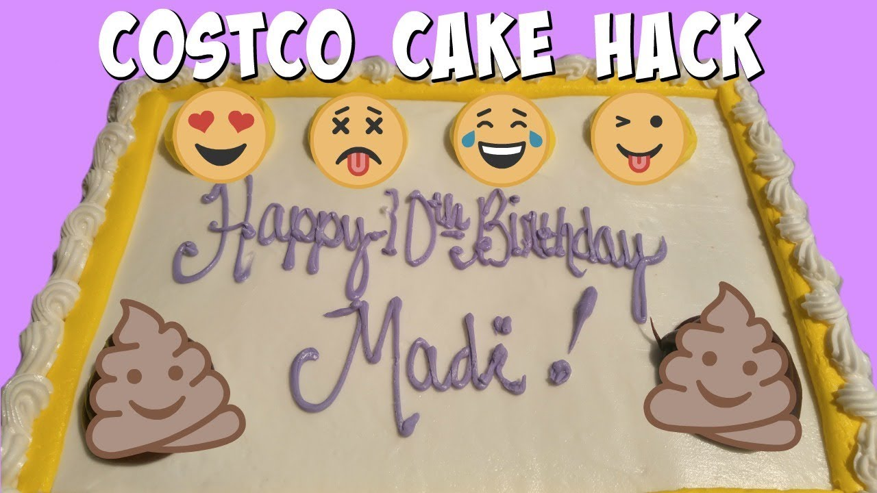 COSTCO CAKE HACK What to do when your kid doesnt want ANY of
