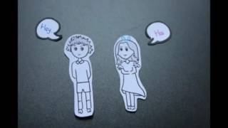 Stop Motion Tulus - Jatuh Cinta
