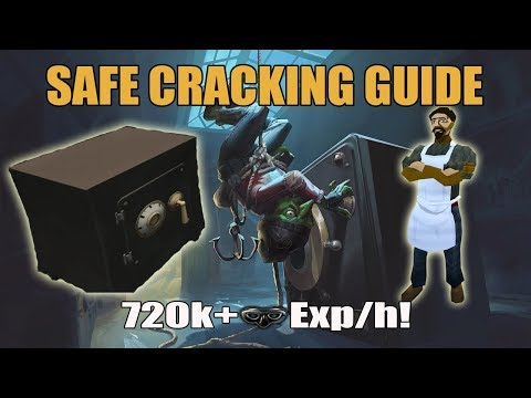 [Runescape 3] Complete Safecracking Guide | FAST Thieving Exp/h!