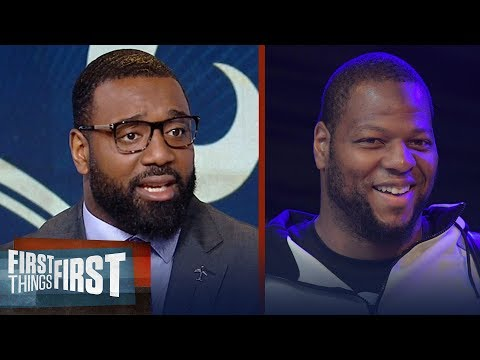Chris Canty reacts to Ndamukong Suh signing with the Los Angeles Rams | FIRST THINGS FIRST