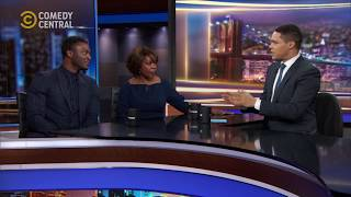 Alfre Woodard and Aldis Hodge chat