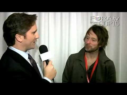FORA.tv Interviews Radiohead's Thom Yorke @ COP15