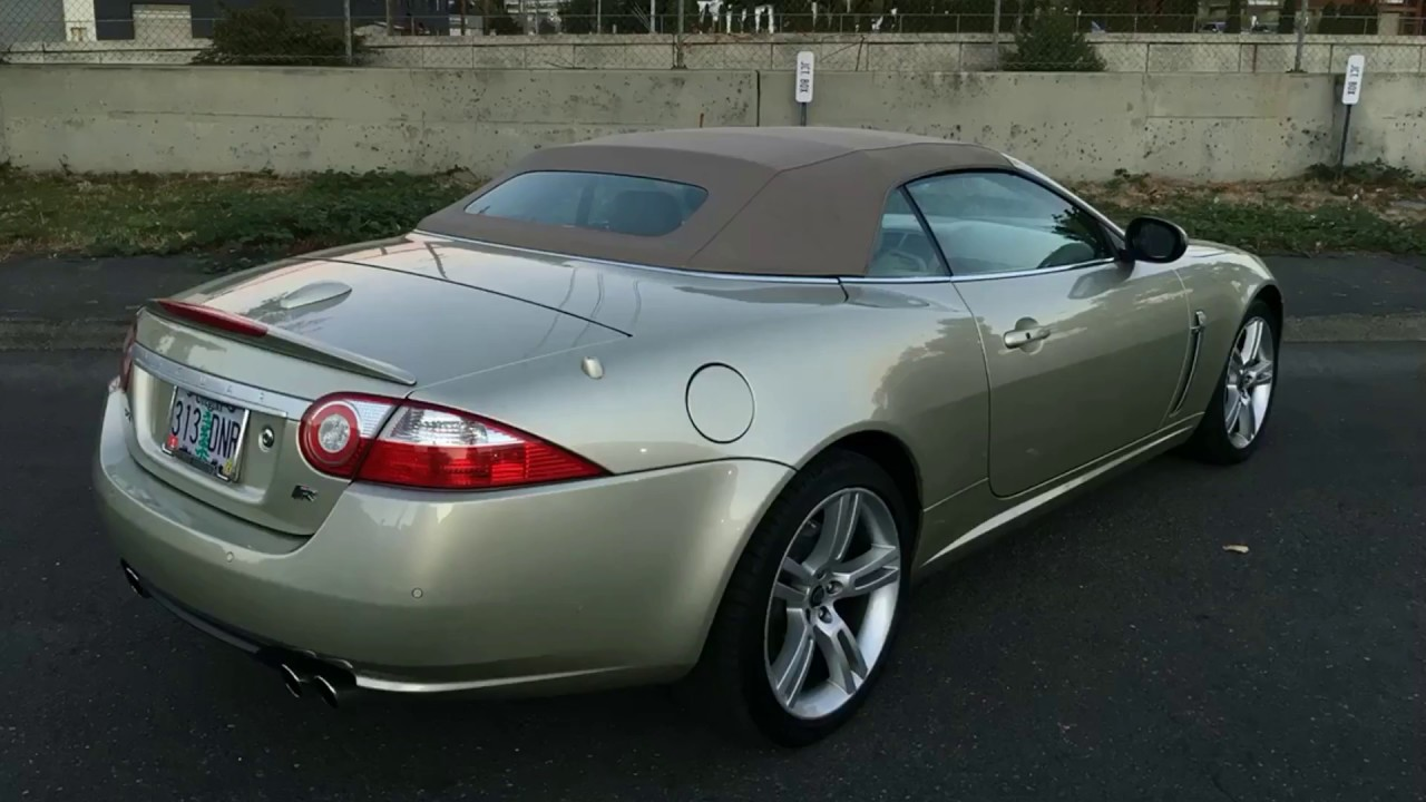 2007 Jaguar XKR Convertible For Sale By Owner