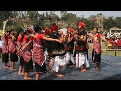 Karbi folk music|Karbi folk song [remix] by Serjang