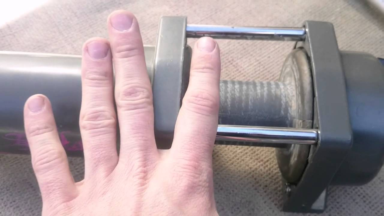Ремонт и замена троса лебедки квадроцикла CF MOTO X8