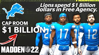 I gave the Detroit Lions 1 BILLION DOLLARS to turn their team into a winner...