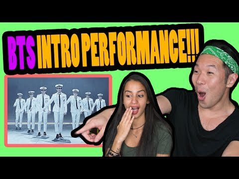 BTS INTRO PERFORMANCE REACTION VIDEO