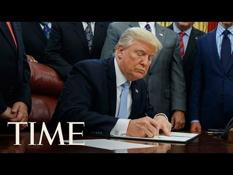 President Trump Signs A Proclamation To Honor Dr. Martin Luther King Jr. Day | TIME