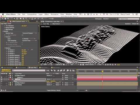 07 - Getting Started With Trapcode Form: Layer Maps