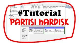 Tutorial partisi hardisk di Windows 8 tanpa software