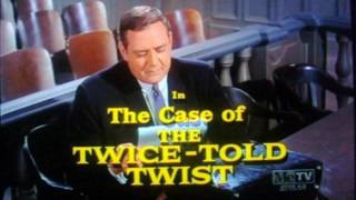 Perry Mason - Color Opening (1966)