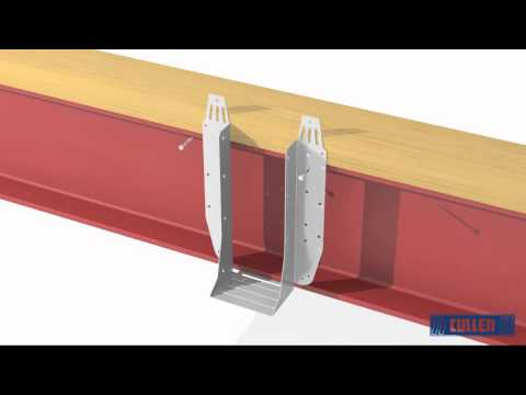 How To Install A UH To Steel Beam With Packer On Top (I-Joist)