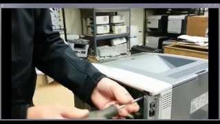 HP LJ P3005 Formatter install uninstall