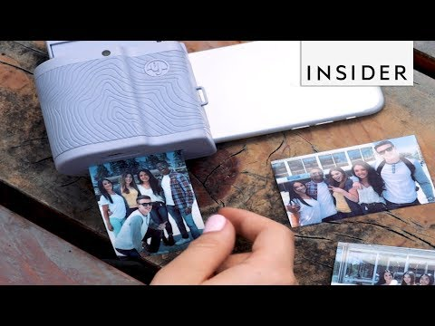 Turn Your Phone Into a Polaroid Camera