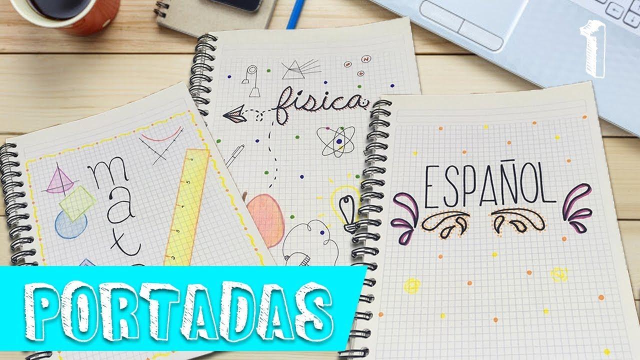 Portadas para cuadernos | Matemáticas, Español y Física | Portadas ...